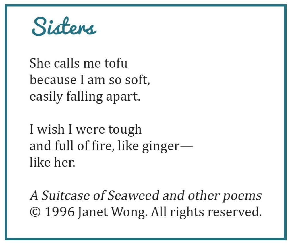 Repeating poems.
