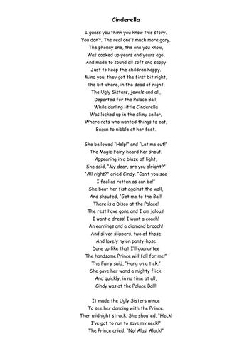 dahl poems