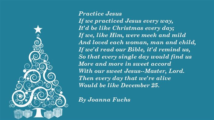 religious christmas poems