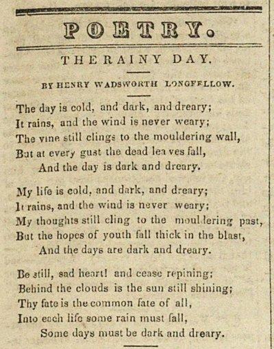 henry wadsworth longfellow poems