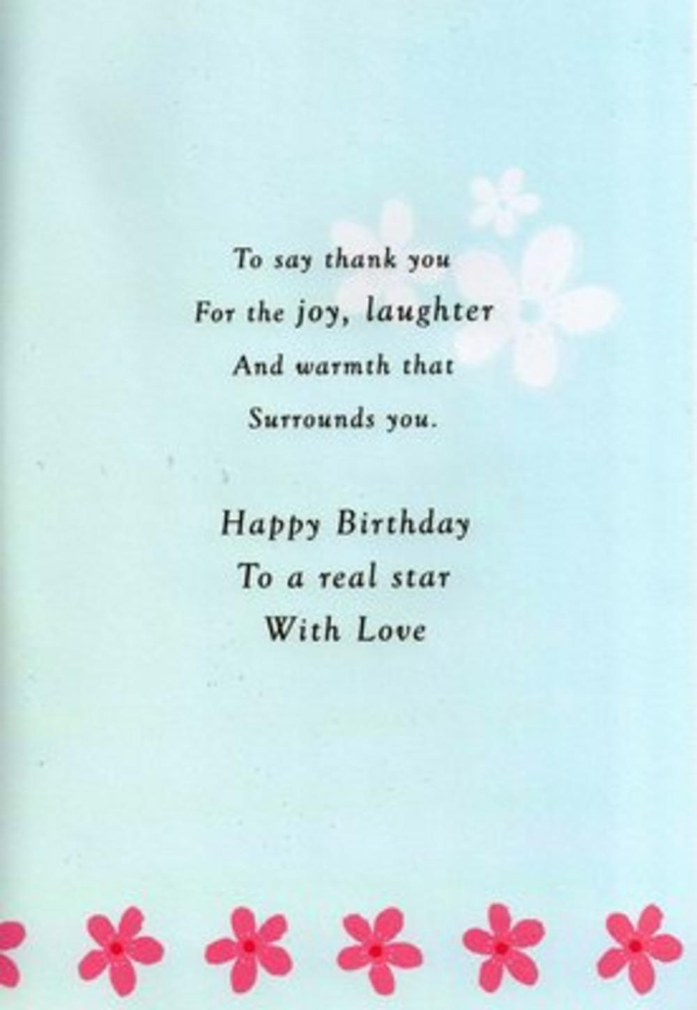 Granddaughter birthday Poems