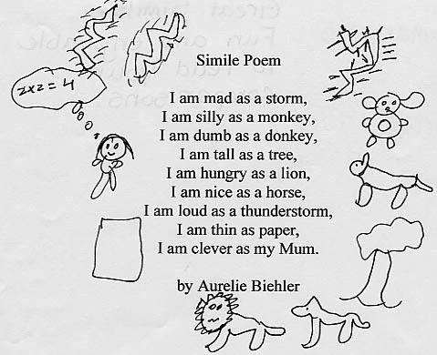 Similie Poems