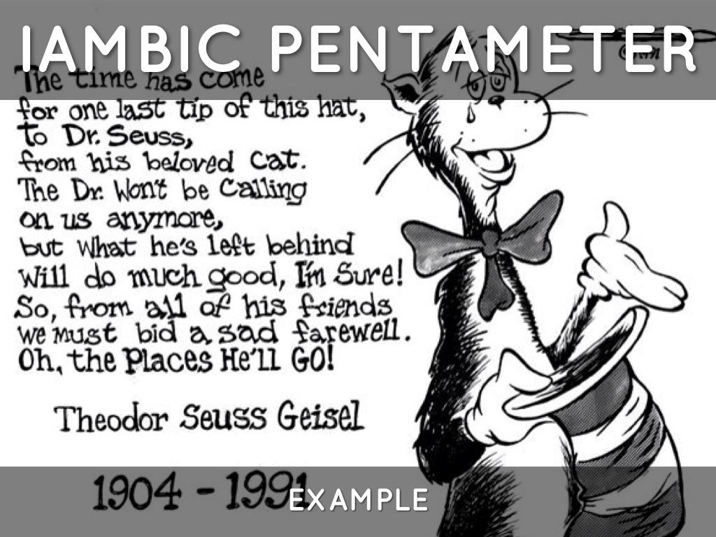 Iambic Pentameter Poems