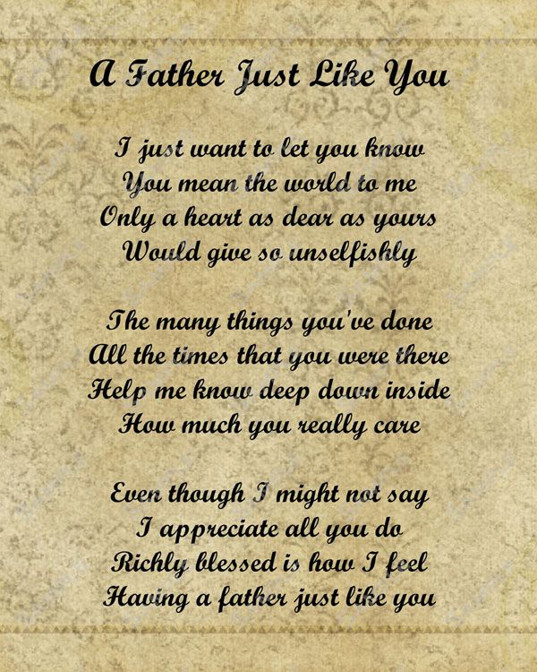 Happy fathers day mom Poems