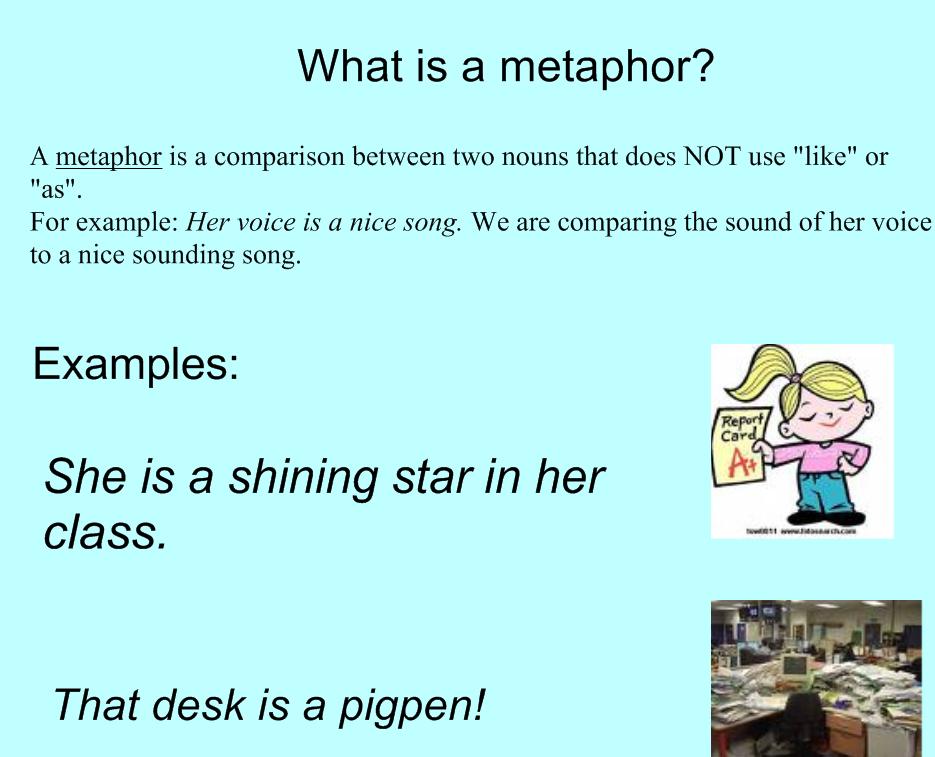 Metaphors In Poems