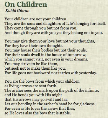 kahlil gibran poems on friendship