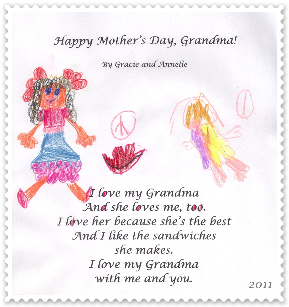 Grandma Mothers Day Poems