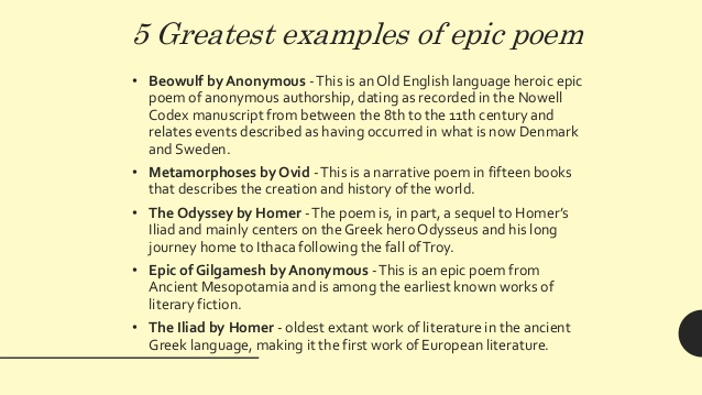 the hero from the epic poem beowulf In the case of beowulf, the battle of grendel is the beginning of the epic with the famous beowulf, warrior of the geats, as its hero epics typically begin as oral traditions, passed down for generations before being written down.