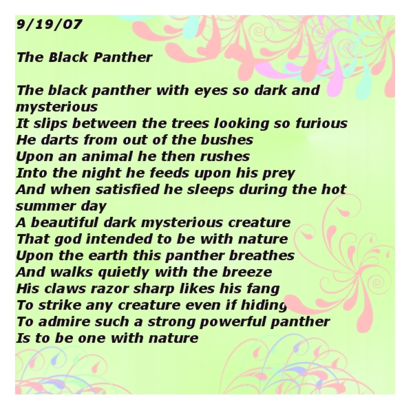 The Panther - Poem by Rainer Maria Rilke