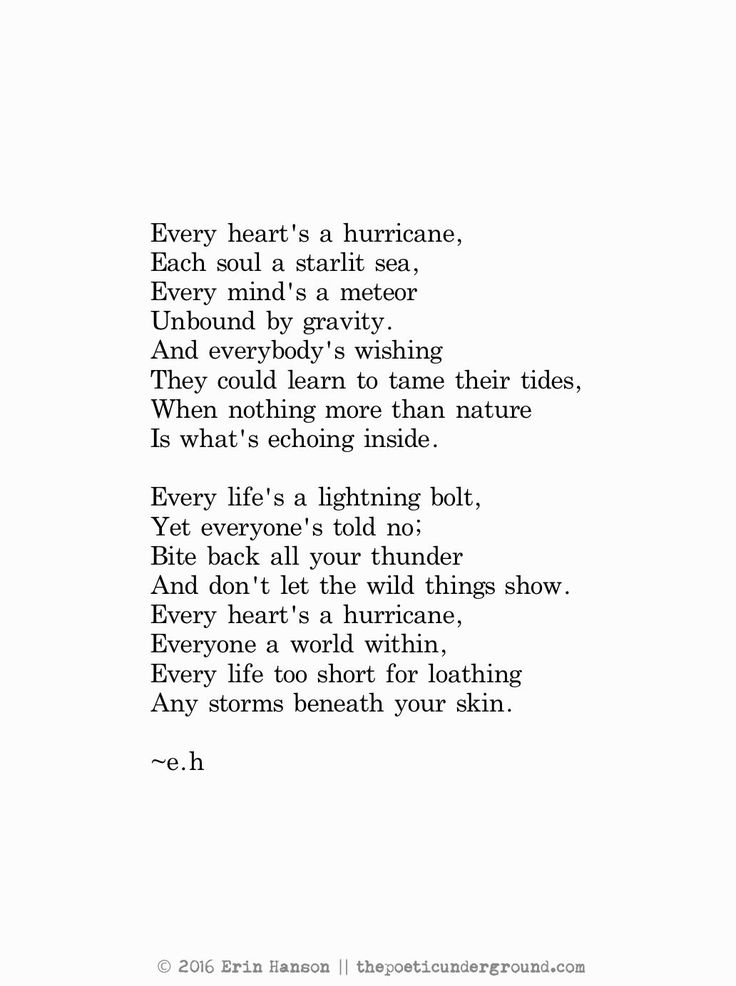 Small meaningful Poems