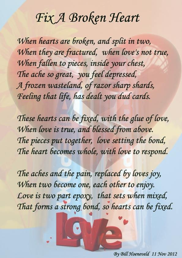 Broken Love Poems