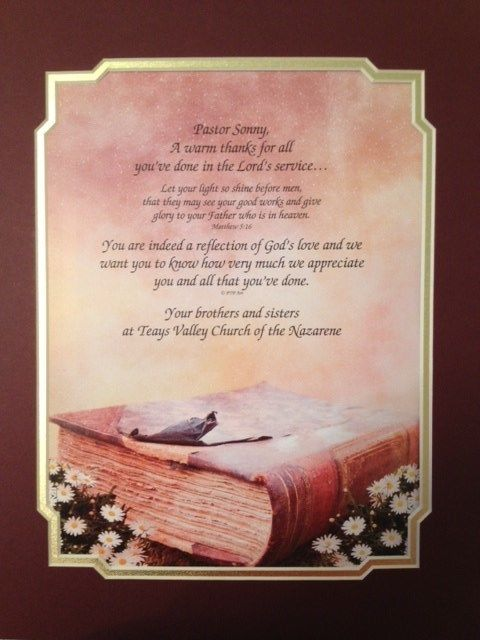 Pastor Appreciation Quotes | Pastor Anniversary Poems