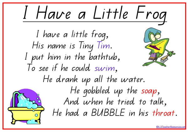 Frog Poems