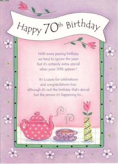 70th Birthday Cards 400x556 Pixels Craft Pinterest