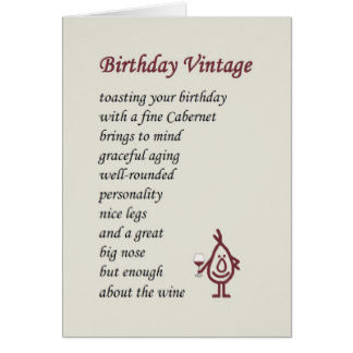 Wine Lover Birthday Cards Photocards Invitations More