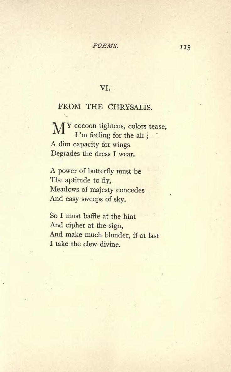 Clasic Poems