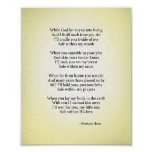 christian baby poems