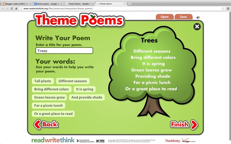 read write think shape poem Shape poetry has to do with the physical form of the words on the paper while the words, writing style and literary devices all impact the poem's meaning, the physical shape that the poem takes is significant.