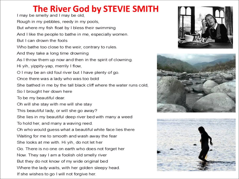 the river god poem