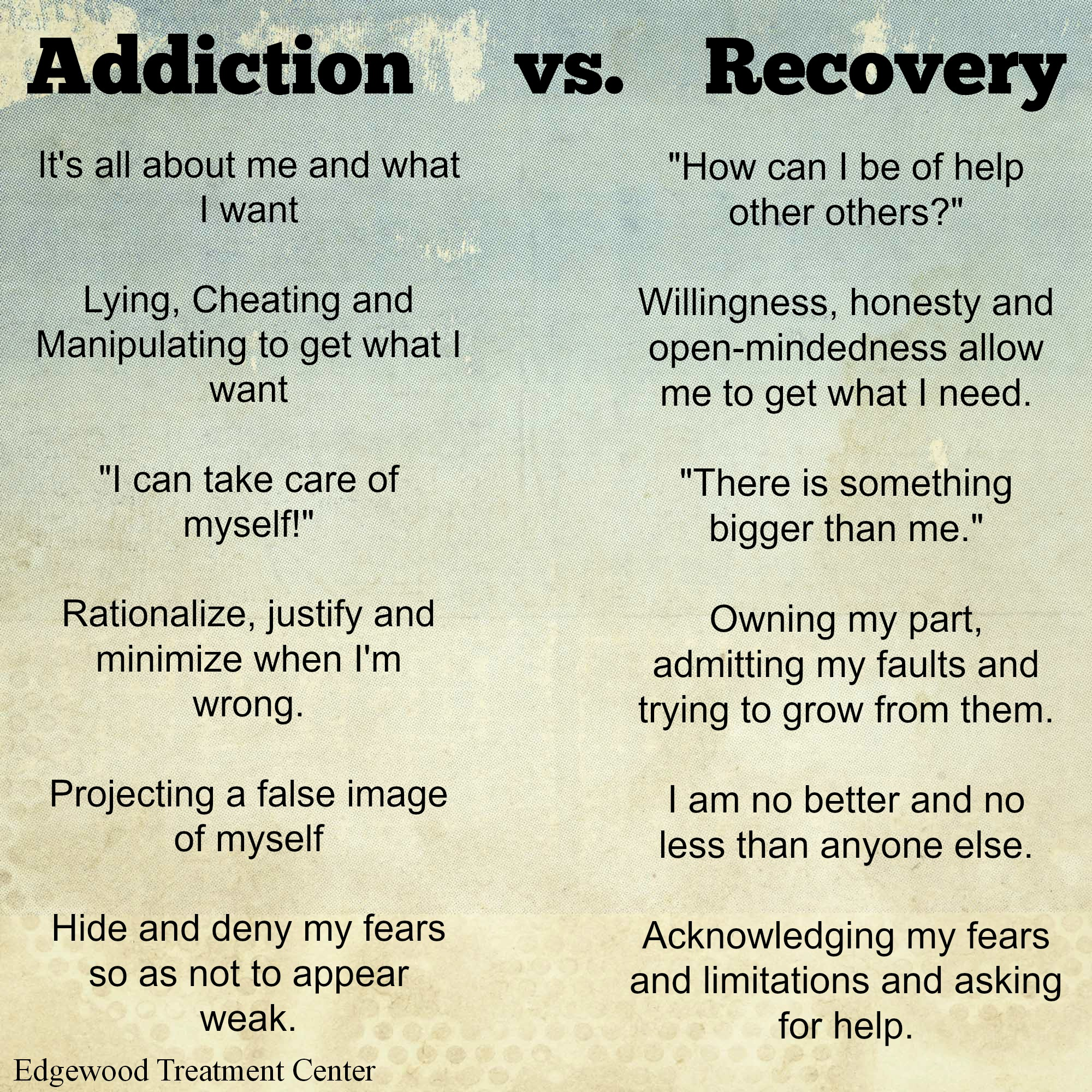 Quotes About Addiction | Aa Poems