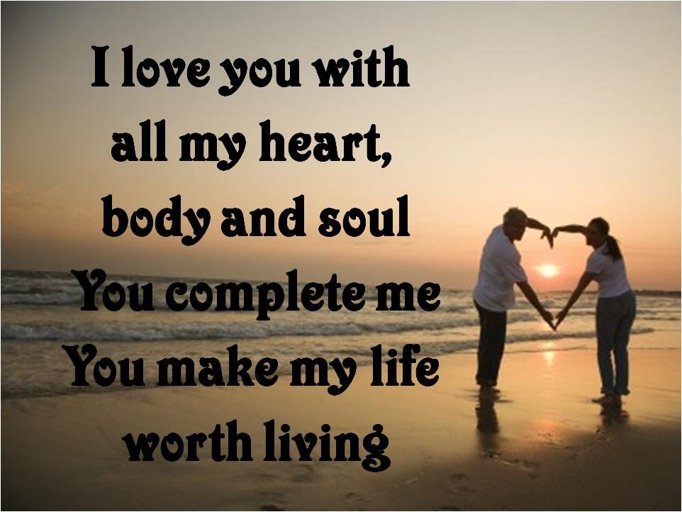 I Love You With All My Heart Poems