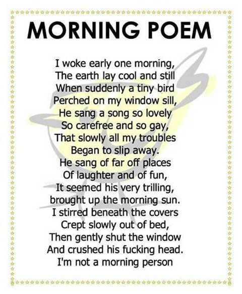 Clean Funny Poems