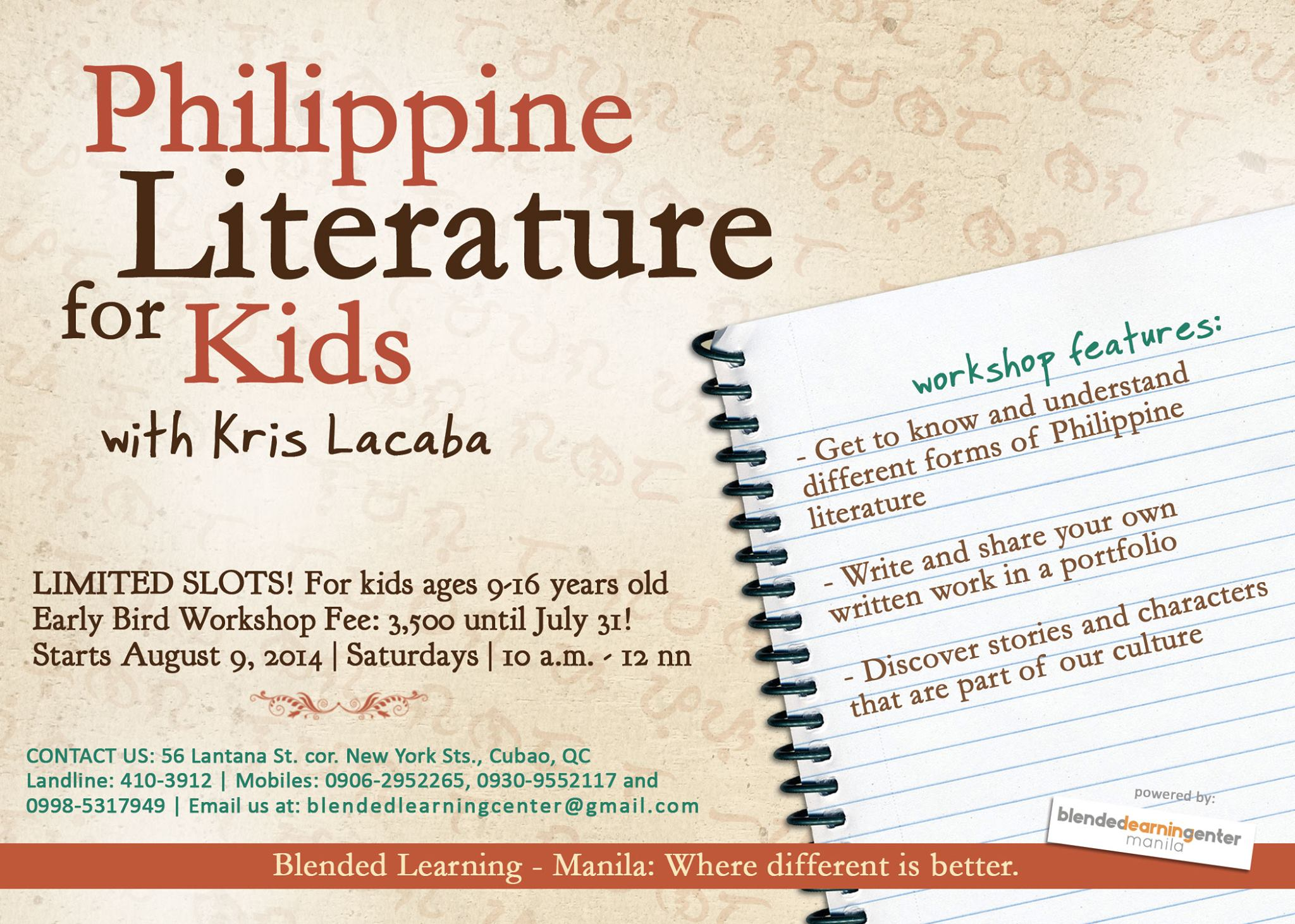 Filipino Poetry from English