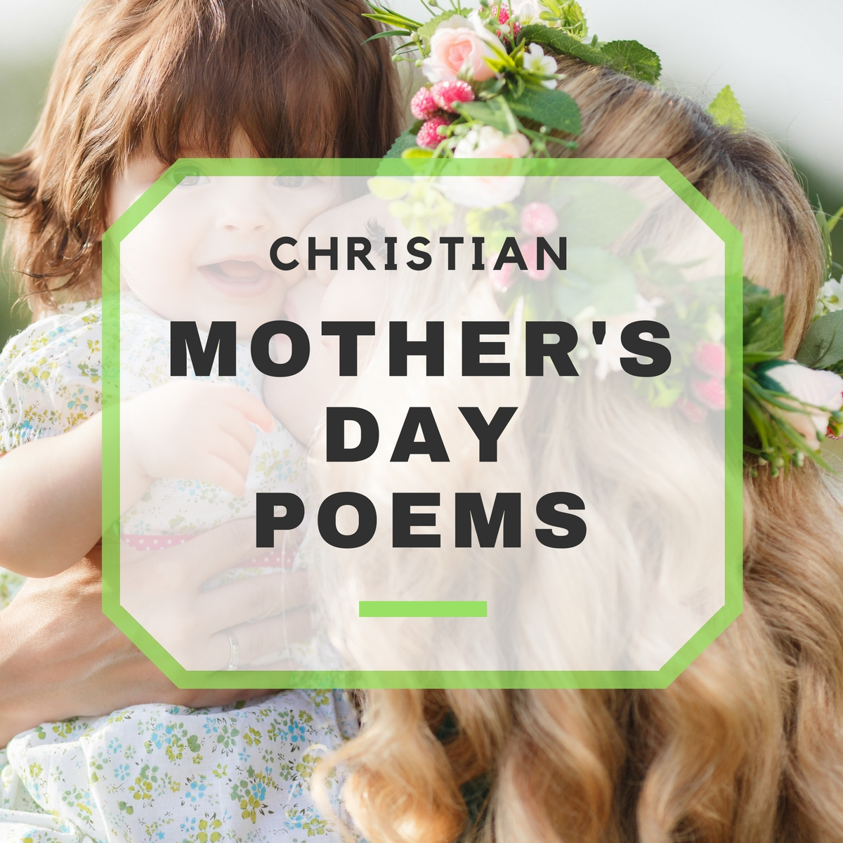 Christian Mothers Day Poems