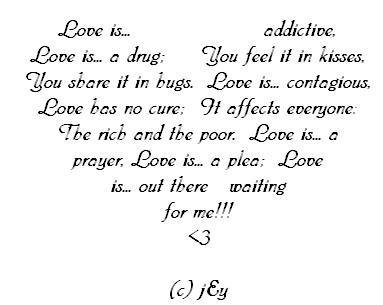 Short rhyming love poems