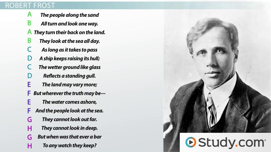 Abab rhyme scheme poems.