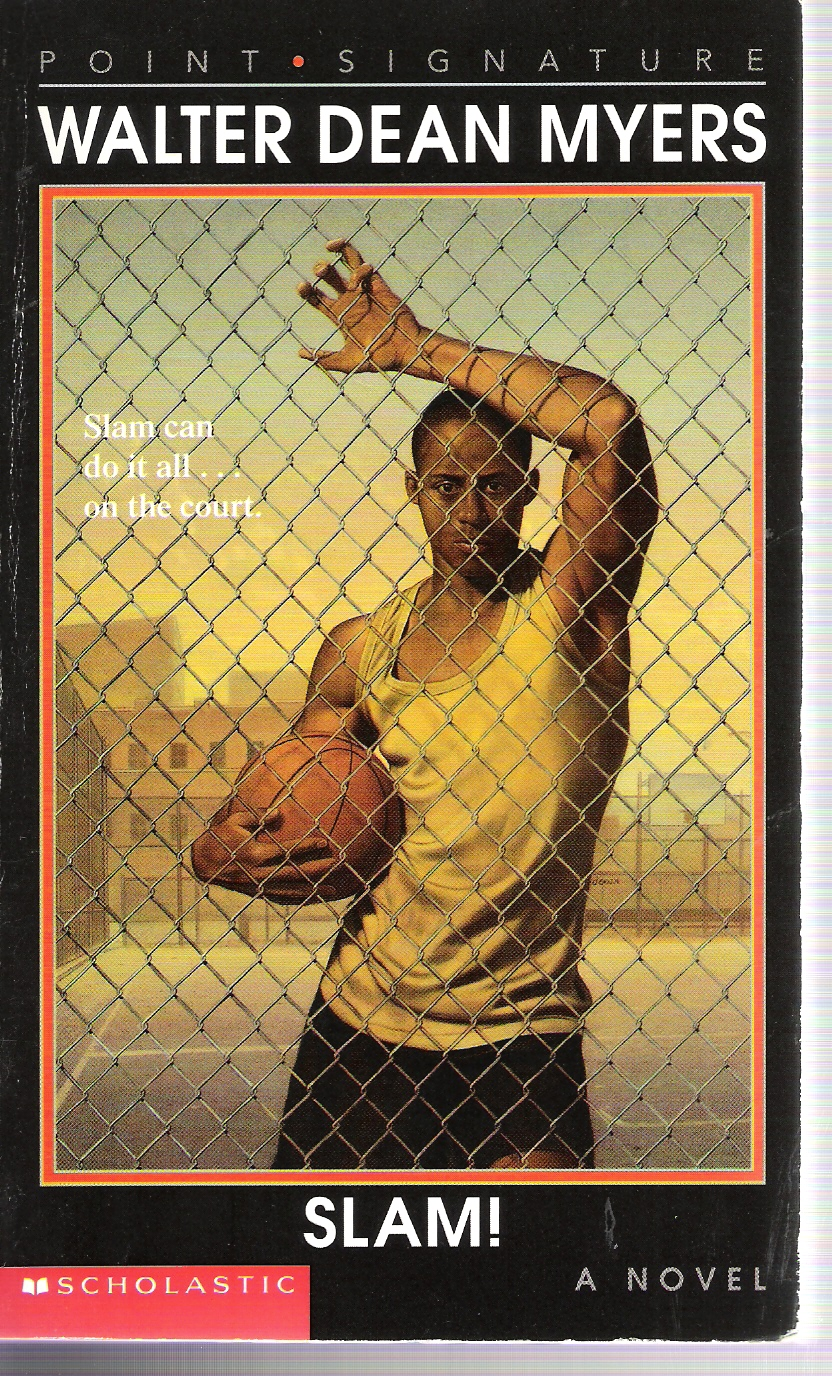 slam by walter dean myers Slam, a novel by walter dean myers about a high school basketball star from harlem slam, a novel by lewis shiner in arts, entertainment and games slam (strategic long-range artillery machine), a fictional weapon in the gi joe universe.