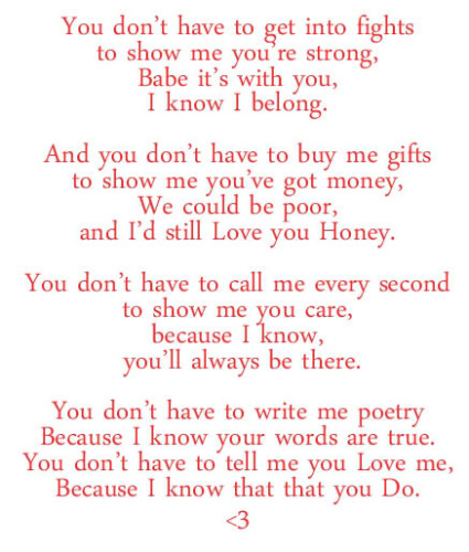 Cute i like you poems