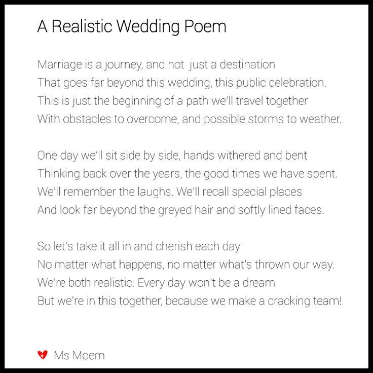 wedding toast poems