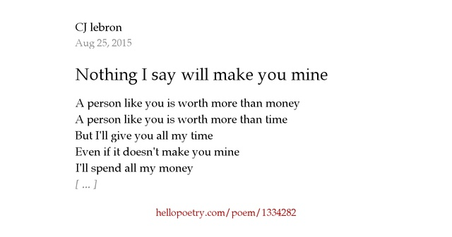 Be Mine Poems