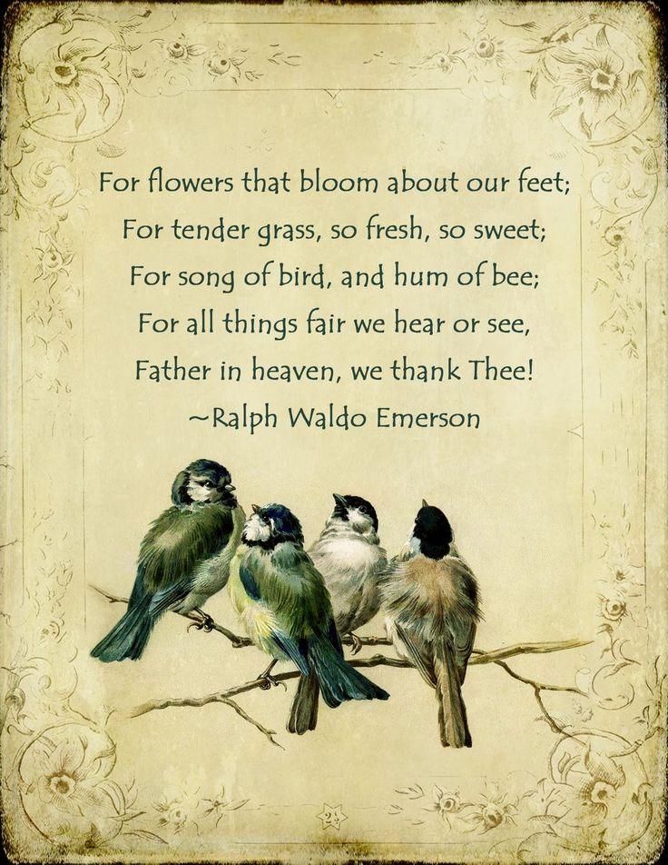 rw emerson poems