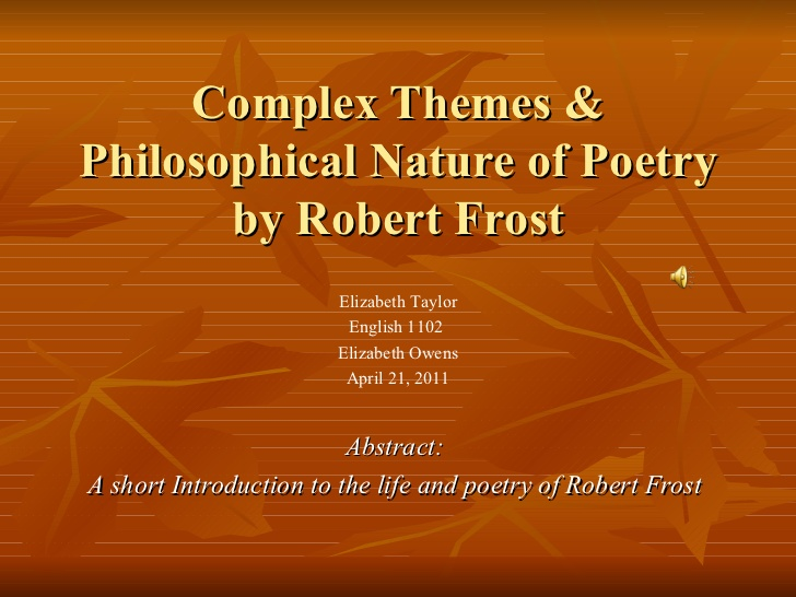 robert frost loneliness