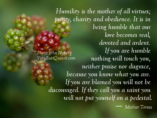Humility Poems