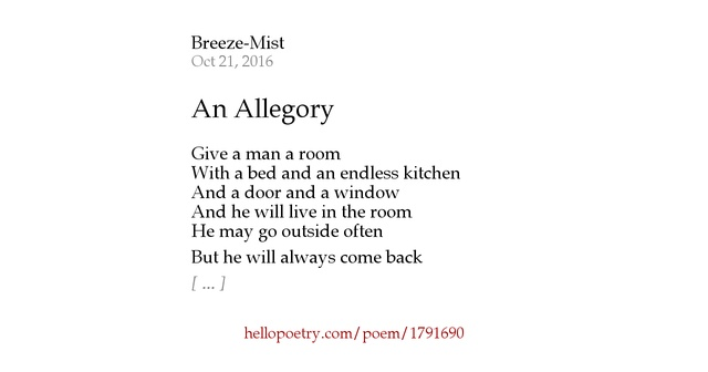 Allegorical Poems