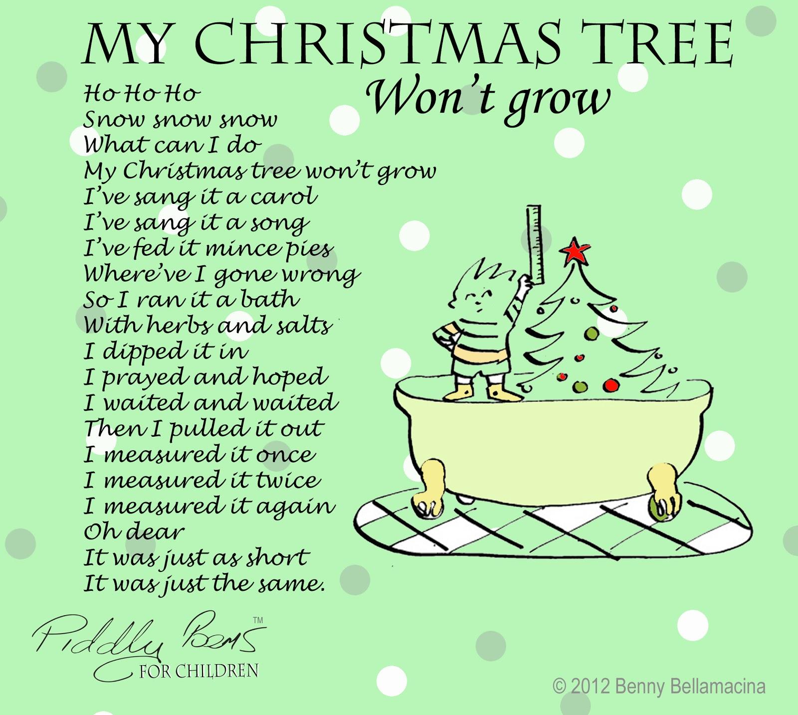 Children S Christmas Poems