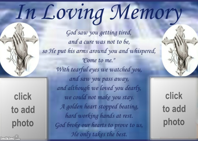 Awesome In Loving Memory Frames Frieze - Custom Picture Frame Ideas ...