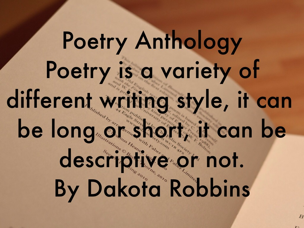 anthology of poems Amazoncom: poems, poets, poetry: an introduction and anthology  poems, poets, poetry: an introduction and anthology  this is the best anthology of poems i've.