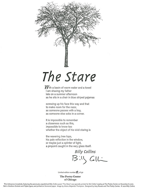 Billy collins love Poems