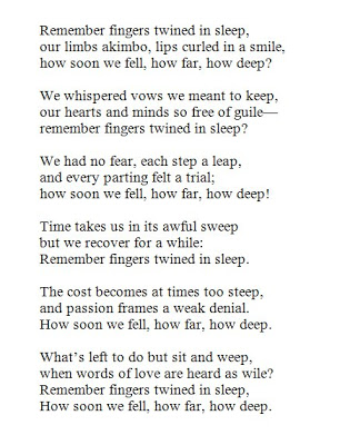 Villanelle Poems