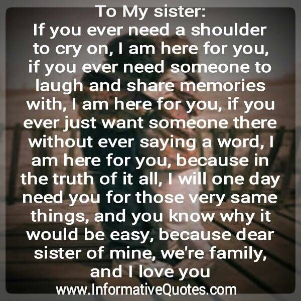 I Love My Sister Poems Enchanting I Love My Sister Picture Quotes