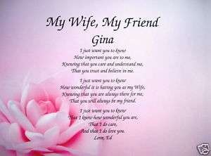 my wife poems
