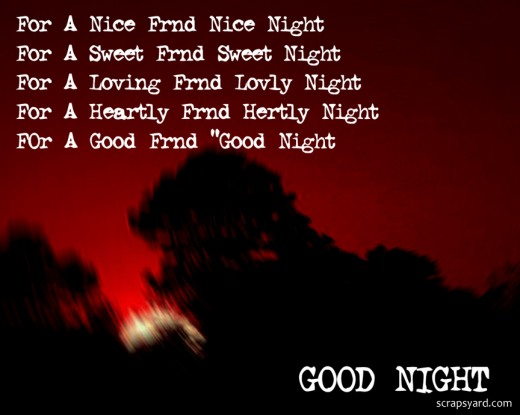 Good Night Love Poems