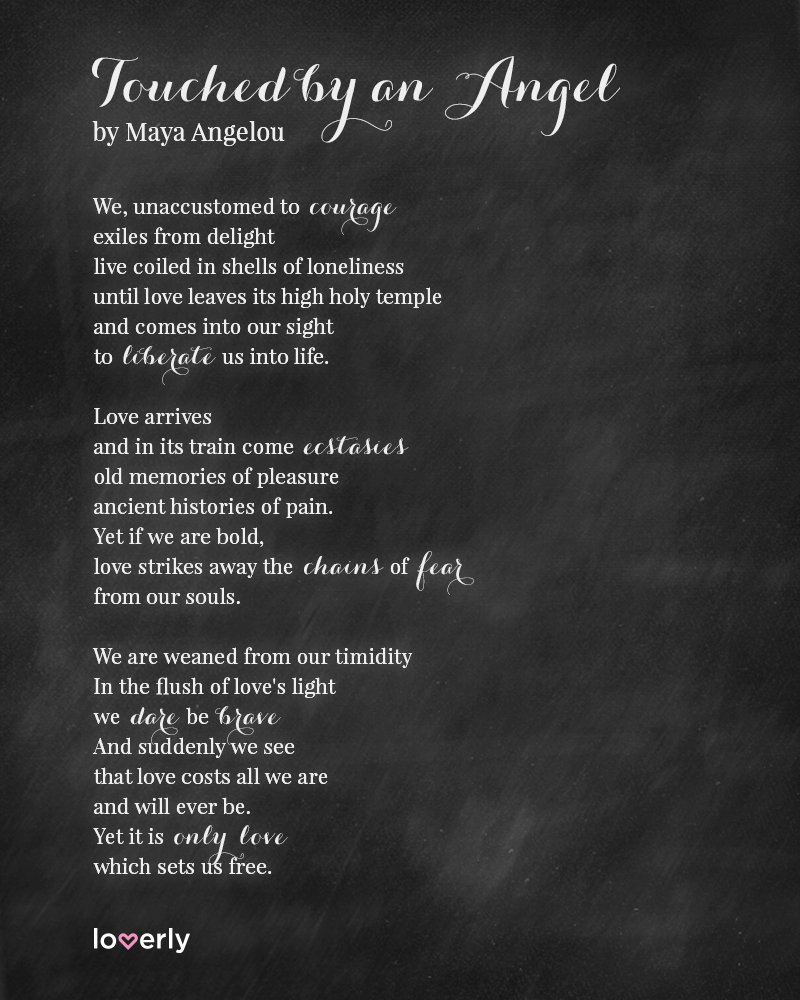 Maya Angelou Short Poems