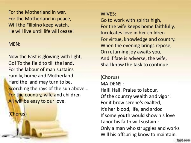 10 interpretation of jose rizal's poem What is the interpretation of the poem to the philippine youth by jose rizal the poem to the philippine youth by rizal oath to tell his countrymen the importance of ones love to his dialect or.