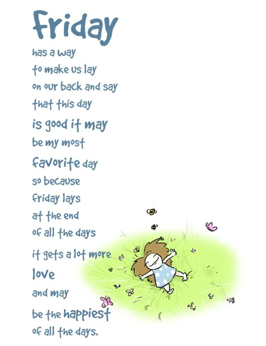 Image result for Happy Friday poem