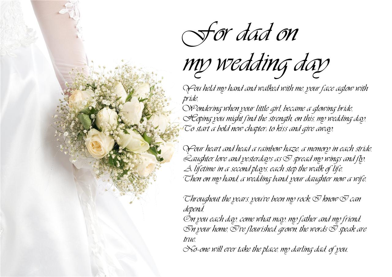 Wedding Day Poems Mother Daughter